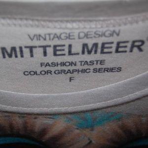 Mittelmeer Tops - NWOT Vintage Design Mittelmeer Owl shirt